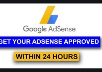 Get Adsense Approval In 2019