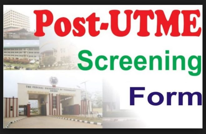 SCHOOLS THAT HAVE RELEASED POST UTME FORM 2019