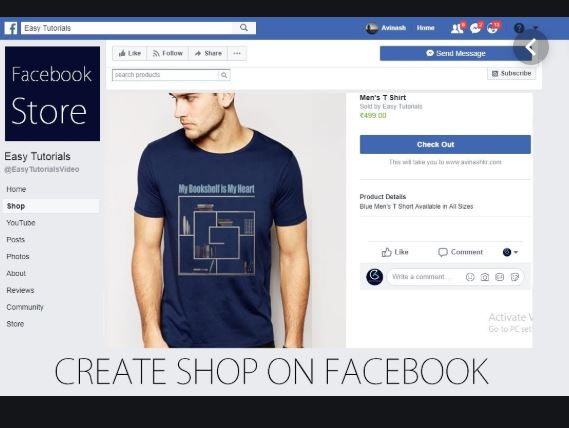 How To Create A Facebook Store