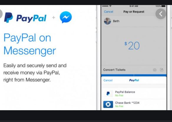 HOW TO USE PAYPAL ON FACEBOOK MESSENGER