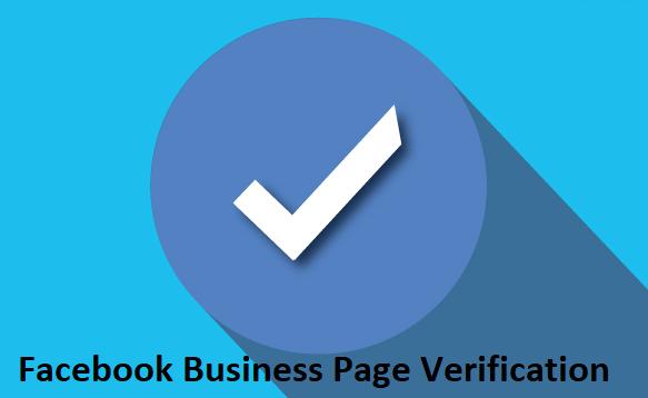Facebook Business Page Verification