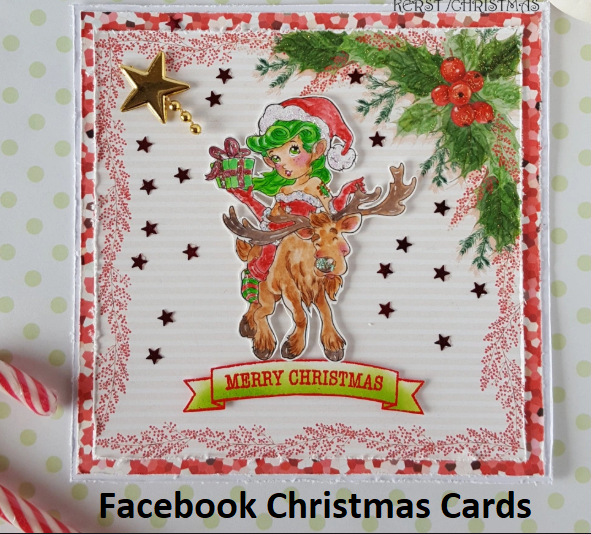 Facebook Christmas Cards