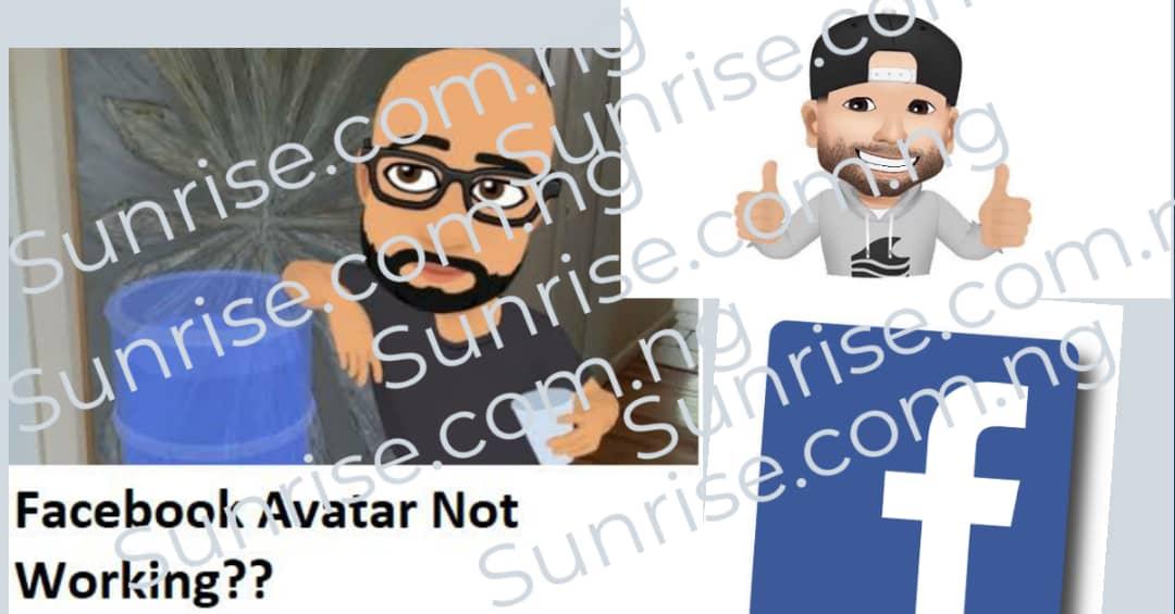 Facebook Avatar Not Working