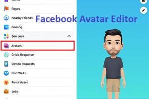Facebook Avatar Editor