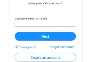 Create New Yahoo Email Account - Create New Ymail Account