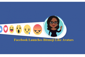 Facebook Launches Bitmoji Like Avatars