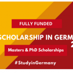Scholarships in Germany 2021 | Fully Funded –  How to Apply for DAAD Scholarship in German Universities