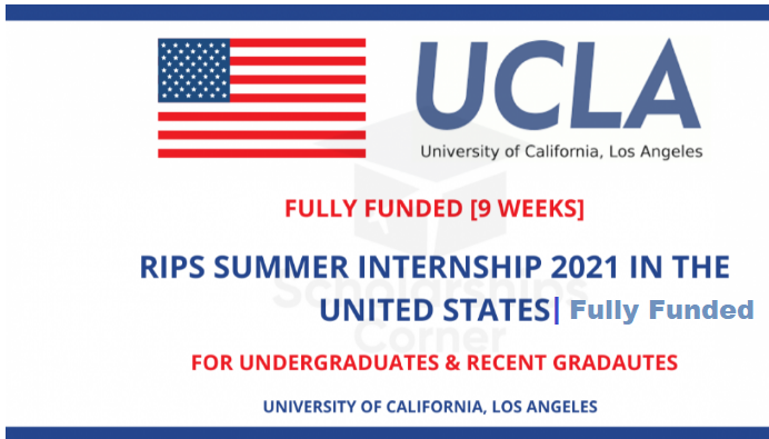 RIPS Summer Internship In United States 2021 | Fully Funded