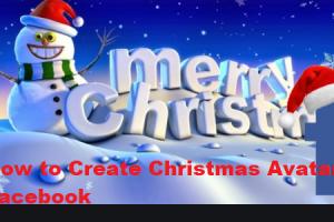 How to Create Christmas Avatar on Facebook