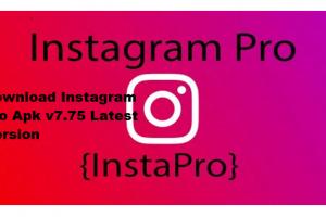 Download Instagram Pro Apk v7.75 Latest Version {InstaPro}