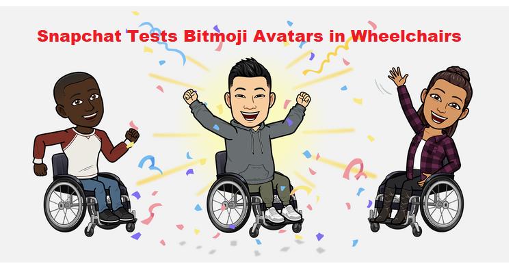Snapchat Tests Bitmoji Avatars in Wheelchairs