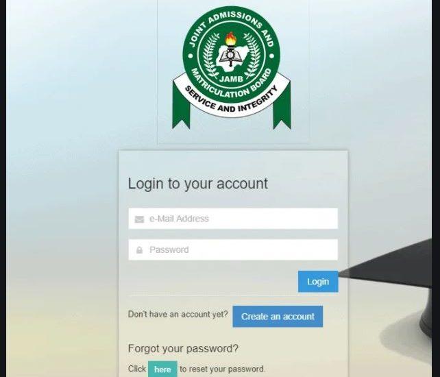 Jamb Login With Only Registration Number