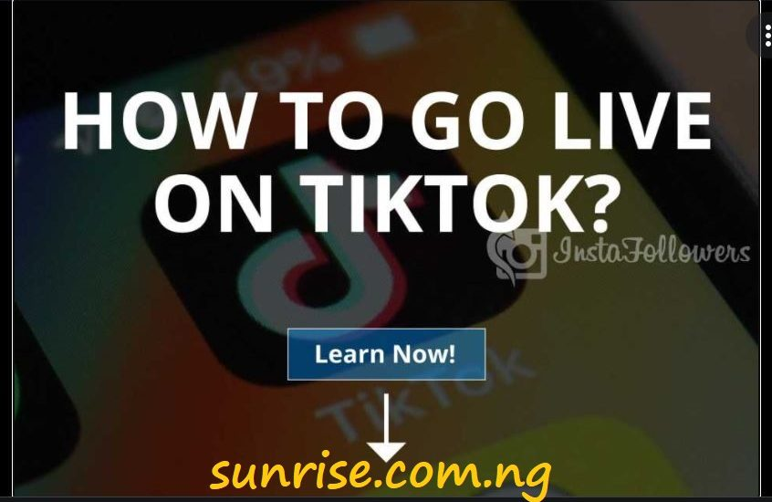 How To Go Live On TikTok Android 2021