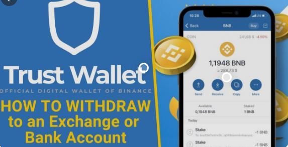 How to withdraw money from a trust wallet