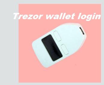 Trezor wallet login