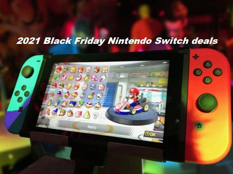 2021 Black Friday Nintendo Switch deals